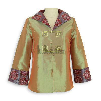 Green Oriental Beauty Jacket