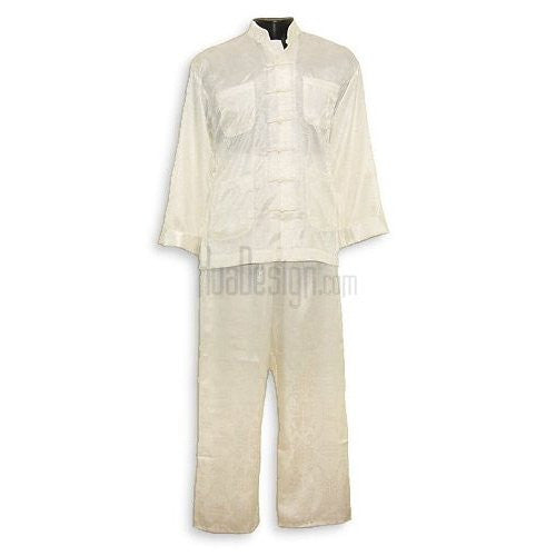 White Pisces Kung Fu Suit