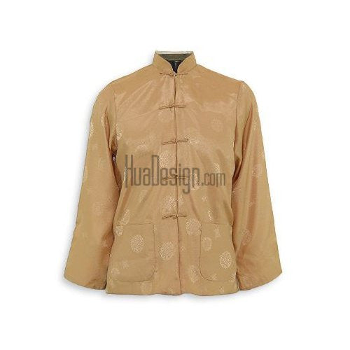 Beige Prosperity Reversible Jacket