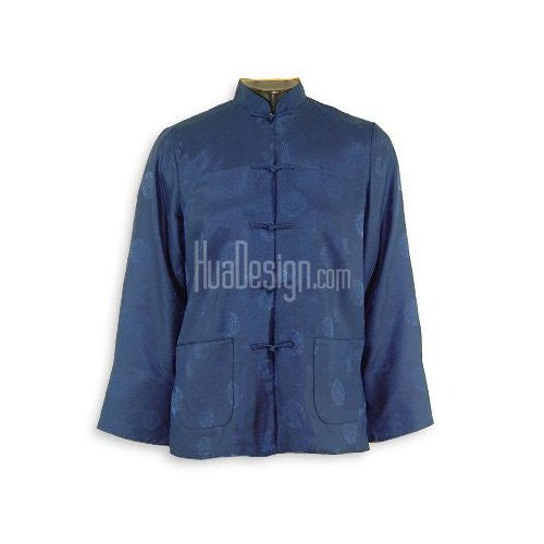 Blue Prosperity Reversible Jacket