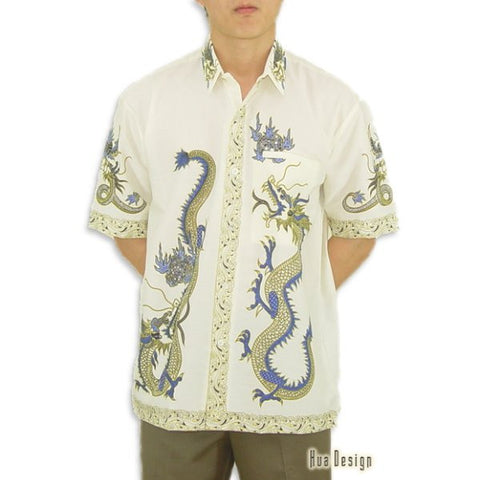 Men's Vintage Dragon Shirt (Front)