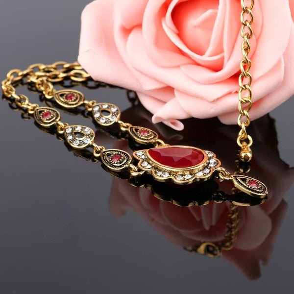 Necklace (Ethnic Water Drop)