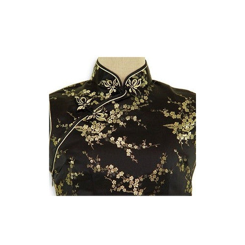 Girls Cherry Blossom Cheongsam (Close-up)