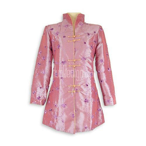 Purple Evening Blossom Long Jacket