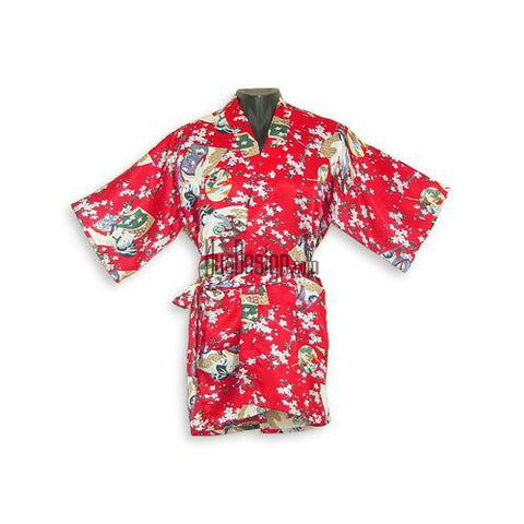 Red Geisha Happy Coat