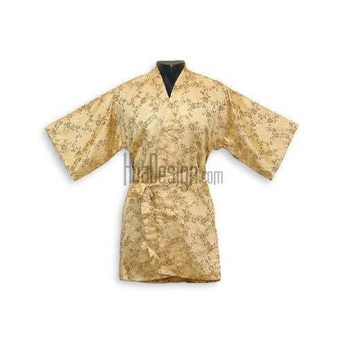 Gold Dragon Peony Happy Coat