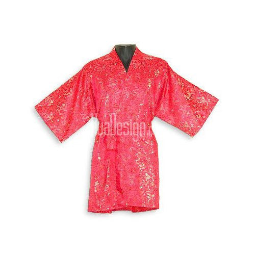 Red Dragon Peony Happy Coat