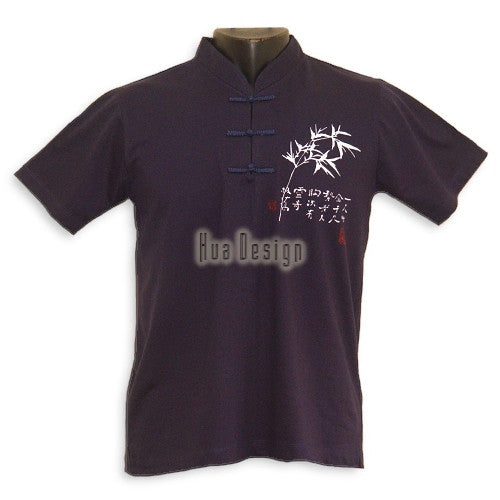 Navy Boys Bamboo Jersey Shirt
