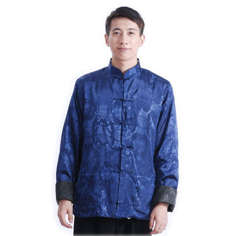 Blue Men's Pisces Jacket