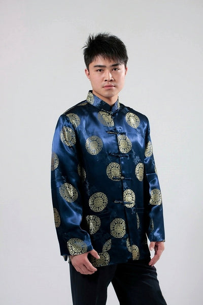 Men's Prosperity Icon Jacket (Blue)