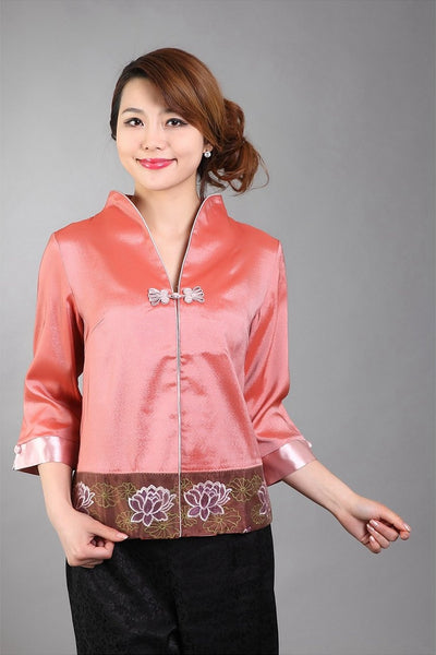 Lotus Flower Jacket (Orange)