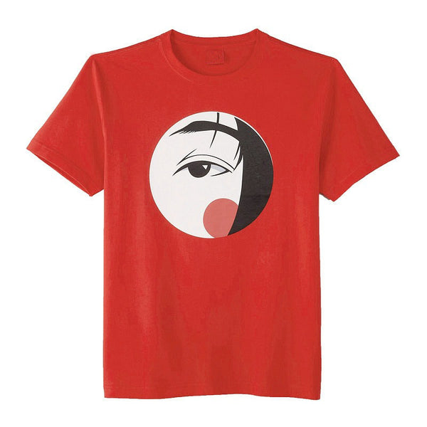 Red Japanese Face T-shirt