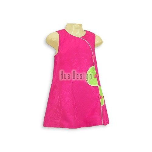 Fuchsia Pink Babydoll Dress