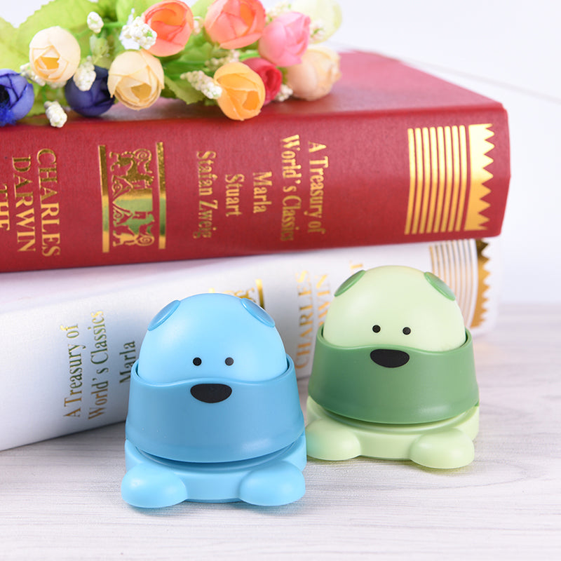 Creative Mini Bear Kids Student Office Stapleless Stapler Finisher Eco-friendly
