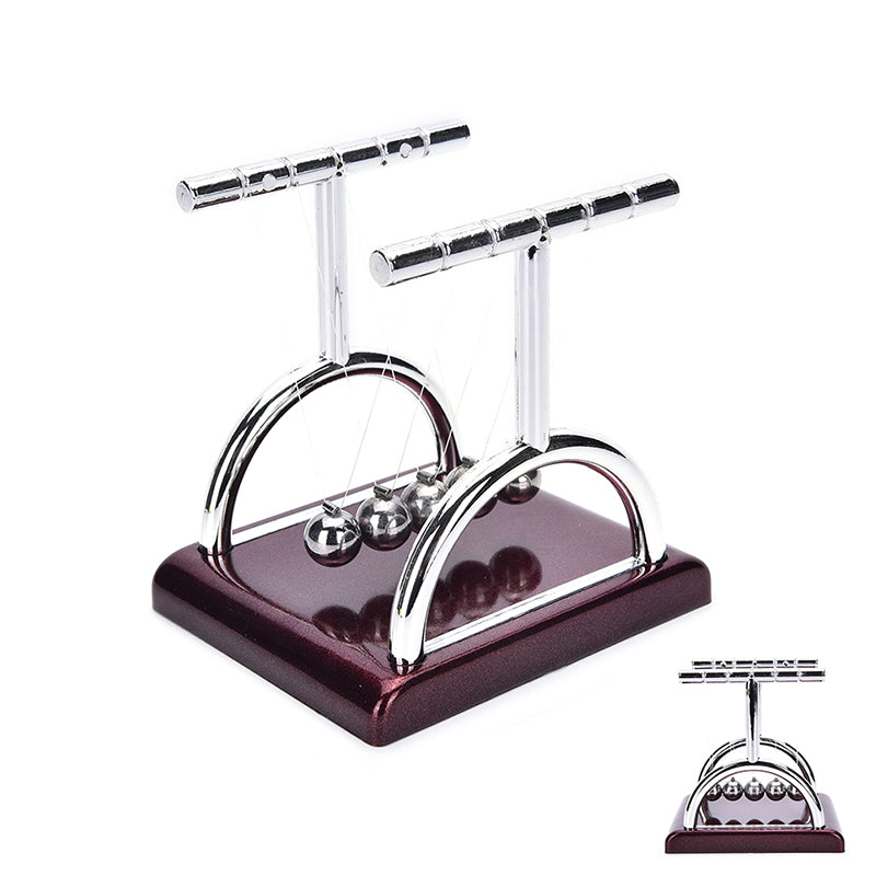 Newton's Cradle Steel Balance Ball Physics Science Pendulum Desk Fun Toy Gift,