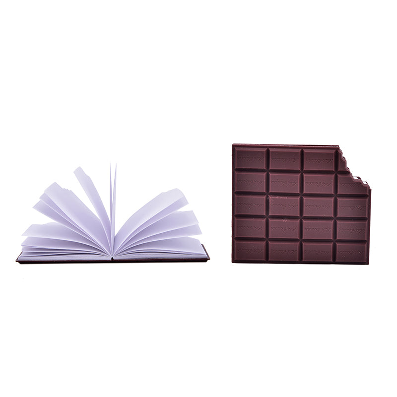 Hot DIY Cover Notepad Creative Chocolate Notebook Memo Pad School Stationery