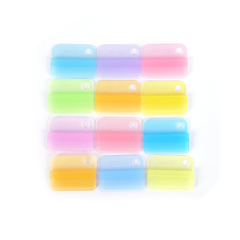 6Pcs Writing Photo Paper Clips Office Accessories School Supplies Stationery New