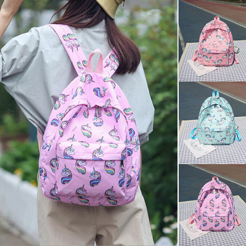unicorn backpacks multifunction for girls kawaii fashion teenagers schoolbags