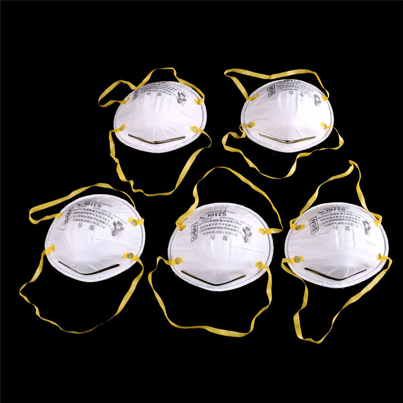 5PCS 8210 N95 Particulate Paint Face Safety Respirator Adult Dust Masks