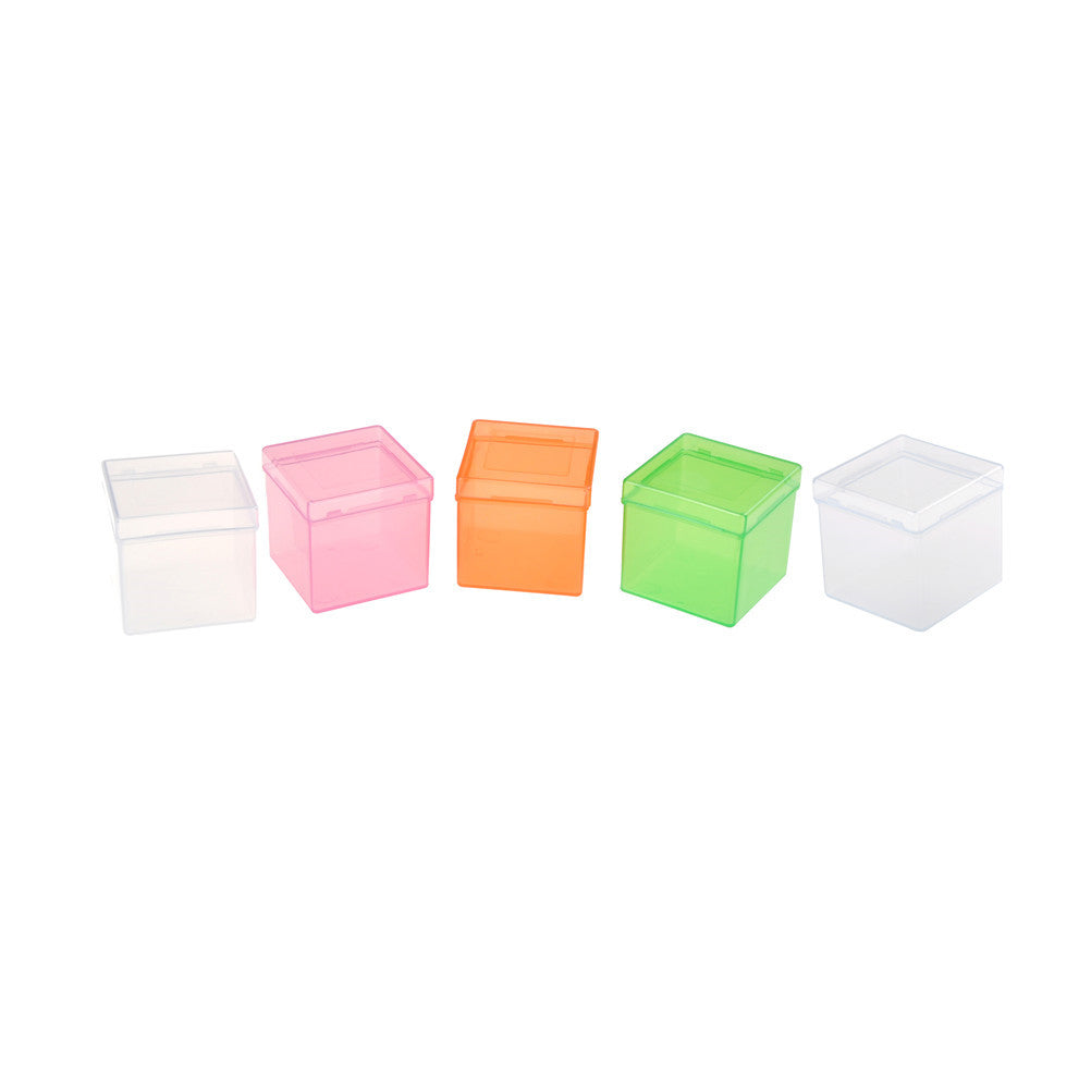 3x3x3 Magic Cube Packing Transparent Plastic Puzzle Saving Box Holder Outer