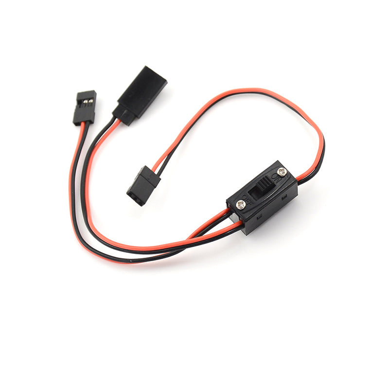 RC Switch Receiver Battery On/Off With JR Lead Connectors And Charge Lead
