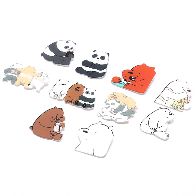 We Bare Bears Badge