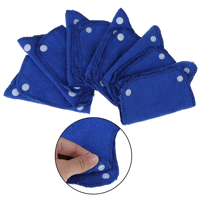 6Pcs Soft Hard Hat Sweat Band Work Place Summer Snap-On Type Outdoor Accessories
