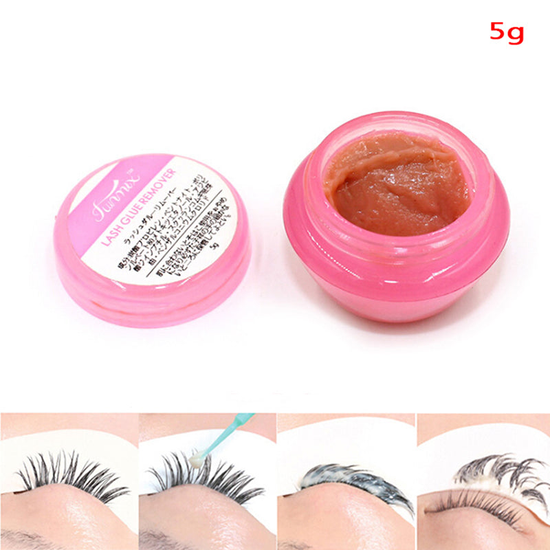 5g Pink Proffesional Eyelash Extension Glue Remover Cream Remover Makeup Tools
