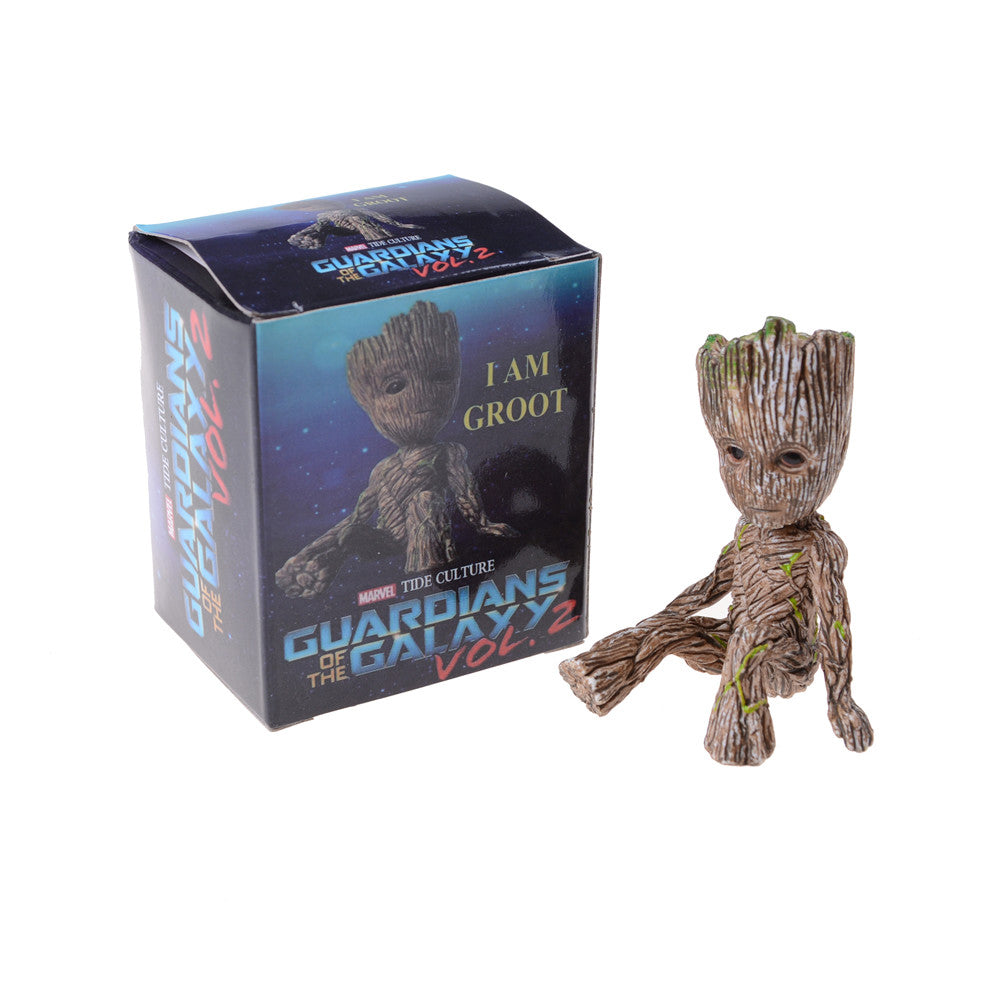 1PC Cute Marvel Groot Figure Model Guardians of the Galaxy Kids Toy Action Figure Hot Sale Beautiful Max