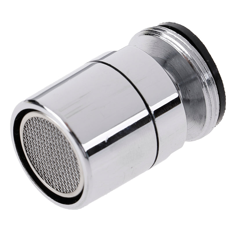 Chromed 24mm Adjustable Swivel Water Saving Tap Nozzle Spout Aerator M24 Male