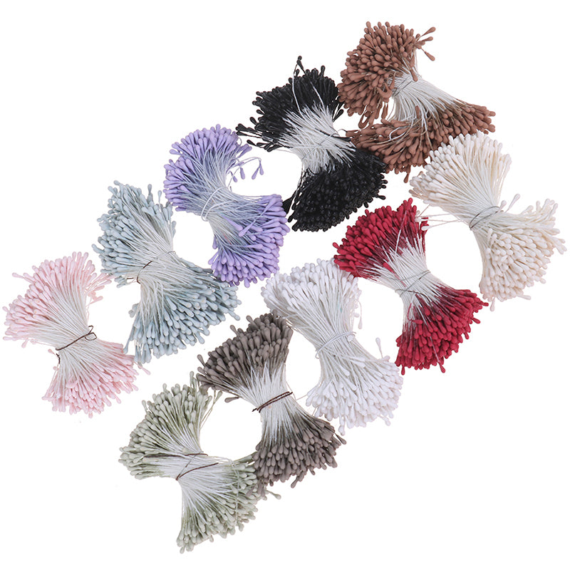 Handmade Artificial Flowers Mini Stamen For Party Home Decoration Accessories