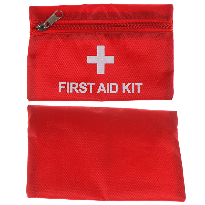 16x11cm Outdoor Hiking Camping Survival Travel Emergency First Aid Kit Bag Pack