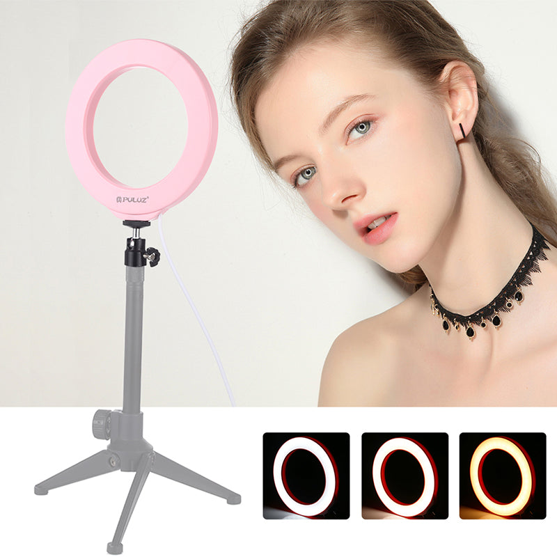 Photography LED Selfie Ring Light Dimmable Camera Makeup Video Live Studio