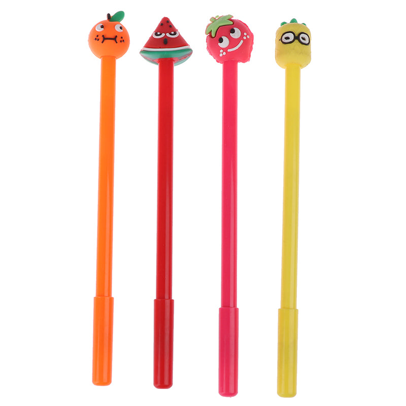 1 Piece kawaii fruit pen creative school office gel pens gift stationery