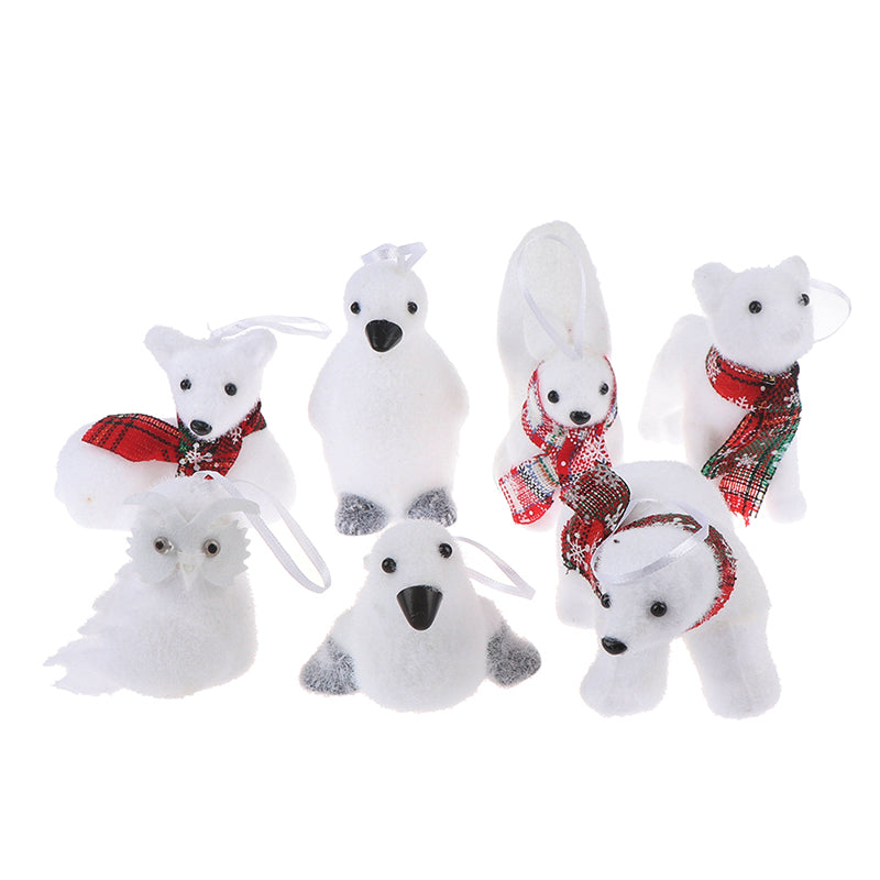 Novelty Foam Cute Doll Ornaments Christmas Tree Pendant Decor Gifts Toys