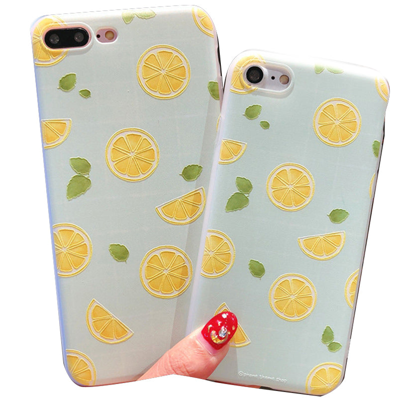 Lemon Style TPU Phone Case For iPhone x 6 6S 7 8 Plus XS XR XS MAX