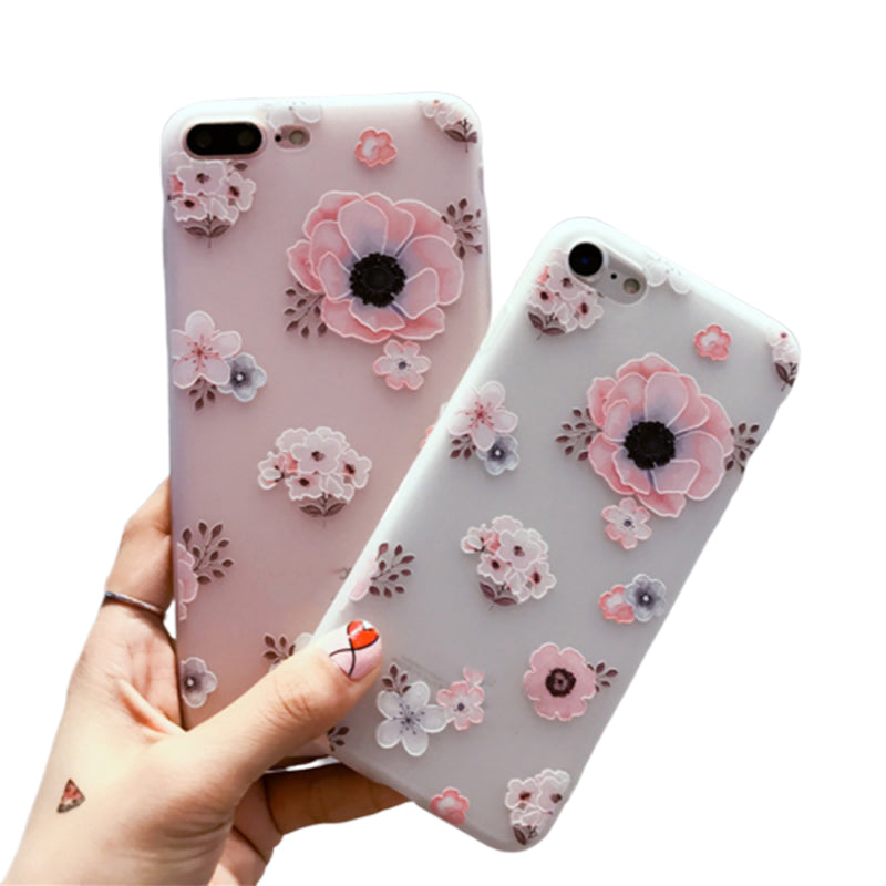 Flower Style TPU Phone Case For OPPO R17P R17 F11 F11P R11 F7 K1