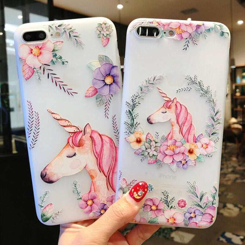 Animal Style TPU Phone Case For iPhone x 6 6S 7 8 Plus XS XR XS MAX