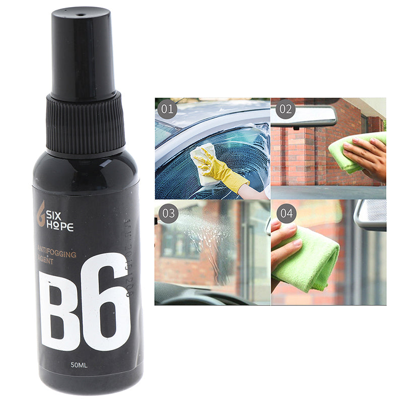 Anti Fogging Agent Car Windshield Cleaning Rain-Proof Spray Glass Cleaners 50ml