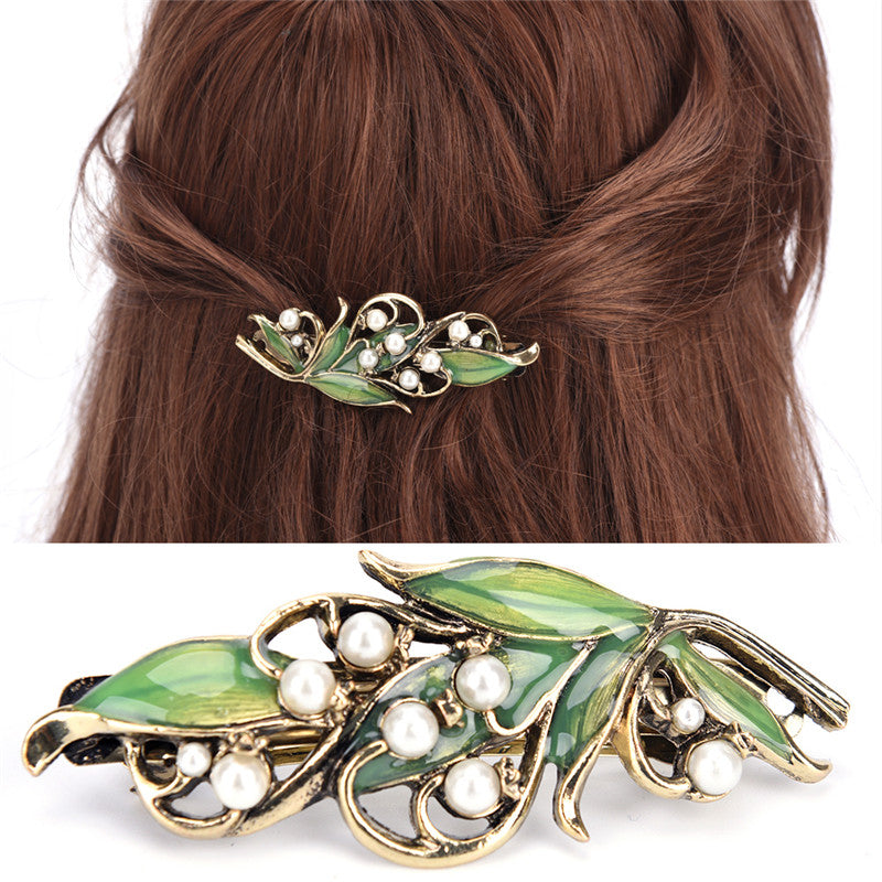 Fashion Gril Vintage Jewelry  Metal Branches Hairpins for Women Wedding Hairclip