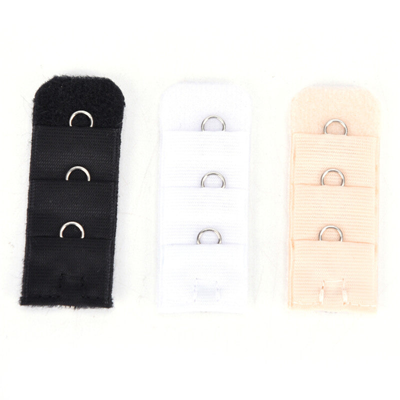 10 PCs Women Bra Extender Strap Extension 1 Rows 3 Hooks Supplies Replacement