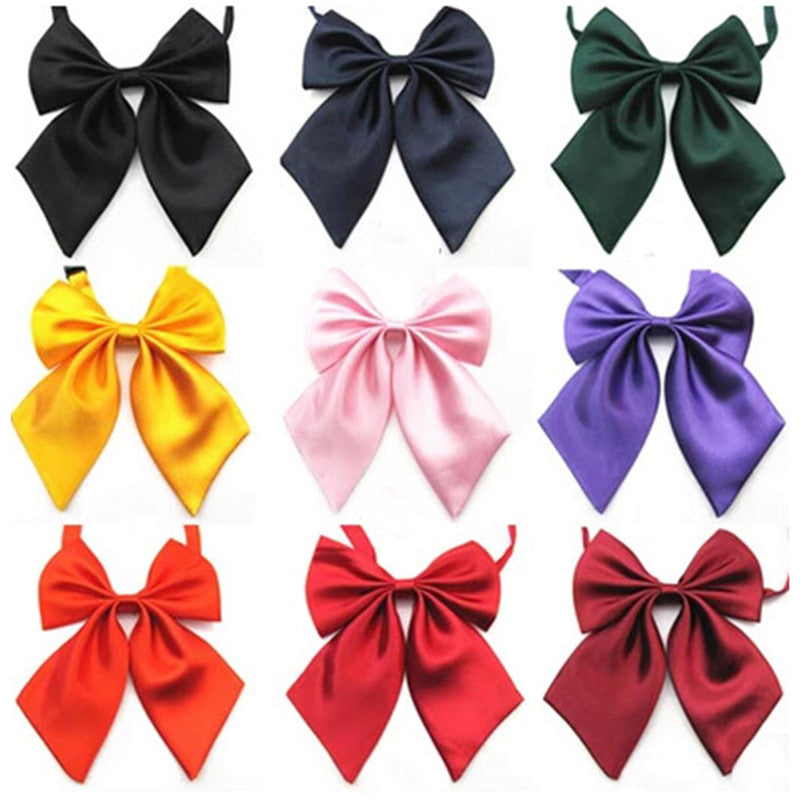 Women Lady Girls Butterfly Bowtie Silk Bow Ties Formal Bow Tie New Fashion 2017
