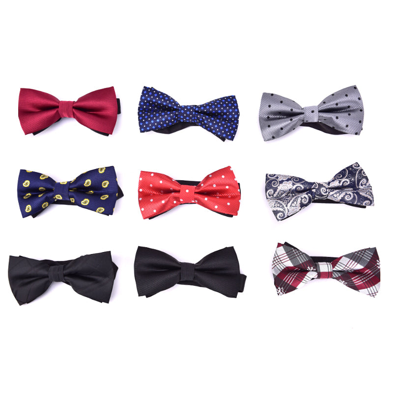 Men Bowtie Bow Tie Suit Necktie Formal Wedding Party Ties 9 color Adjustable