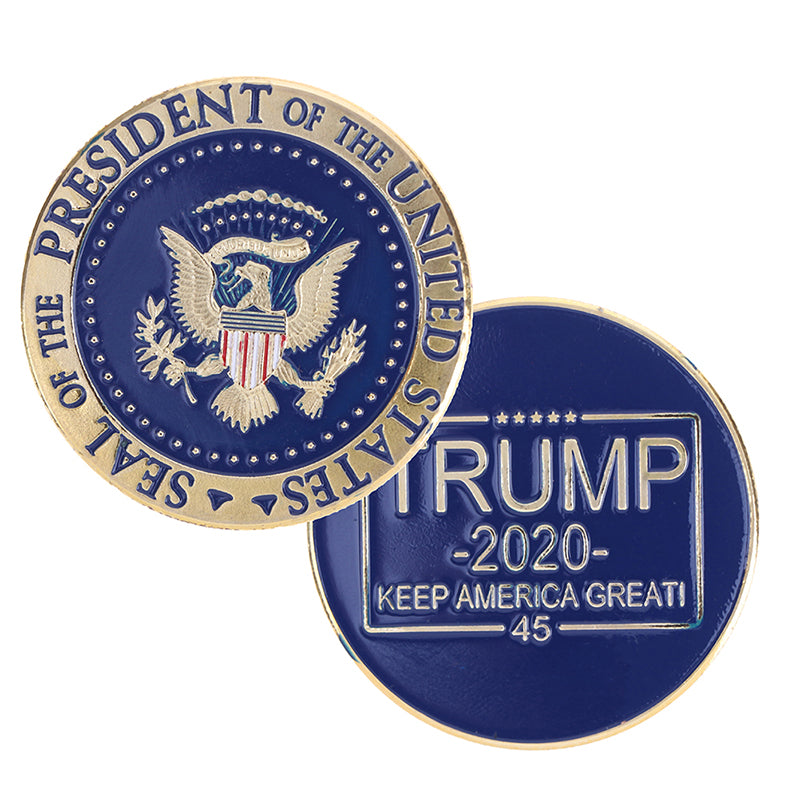 Donald Trump 2020 Keep America Great Challenge Coin Presidential Souvenir Coin