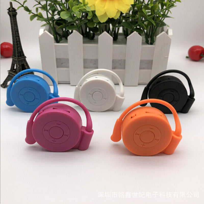 Portable mp3 player mini hanging ear mp3 player music usb support tf card
