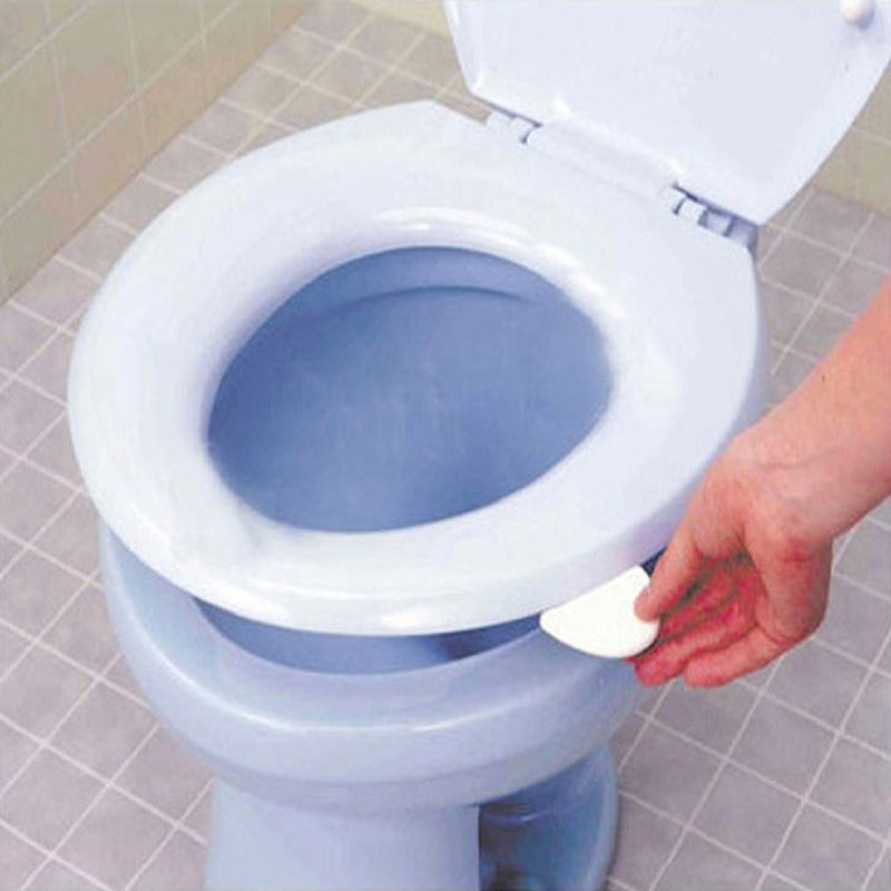 Sanitary Toilet Seat Cover Lifter Toilet Bowl Seat Cover Lift Handle White