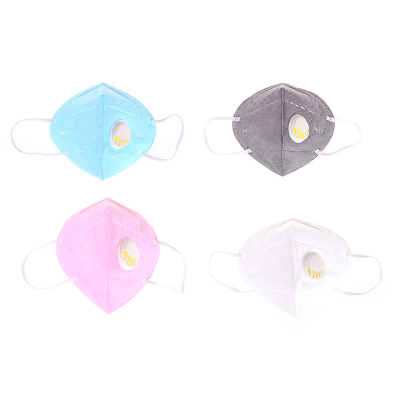 Creative Folding Nonwoven Valved Safety Anti-Dust Pm2.5 Respirator Face Mask