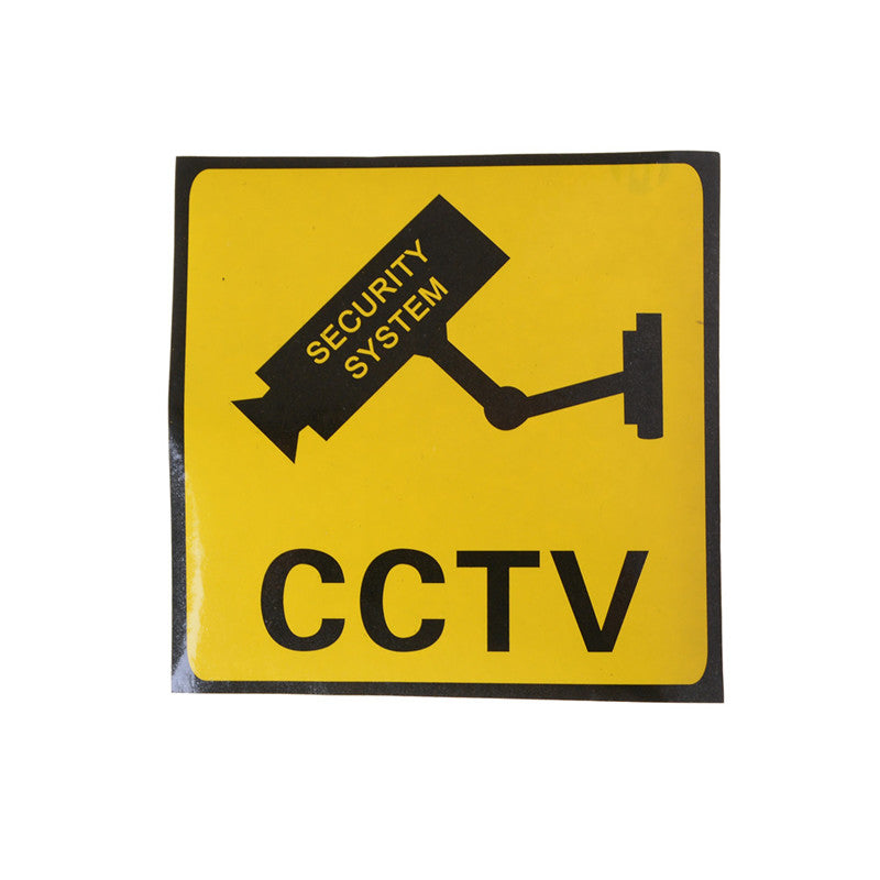 CCTV Security System Camera Sign Waterproof Warning Stickers