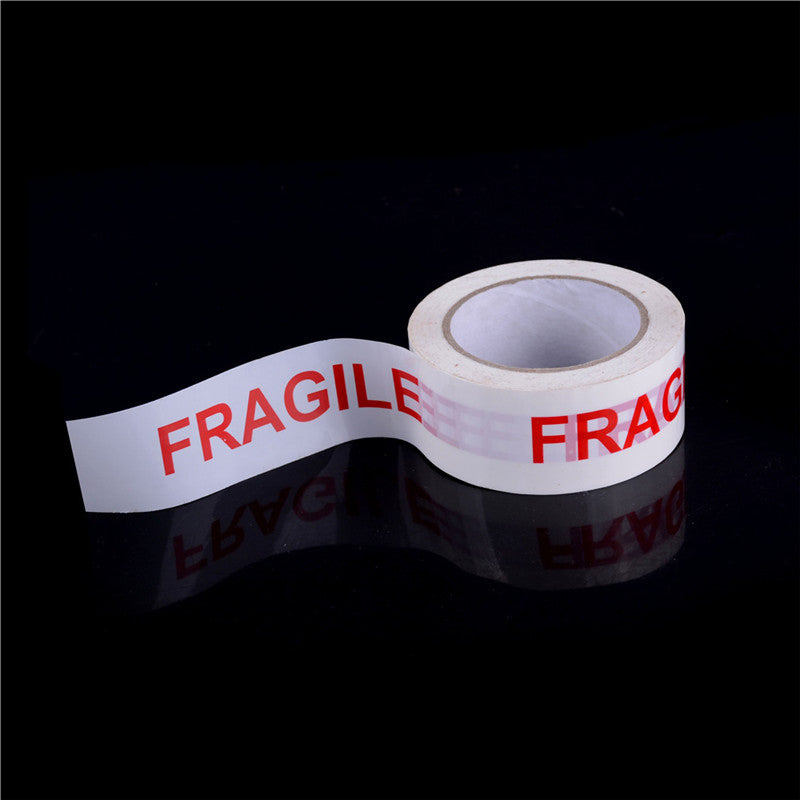 4.7CM*85M High Adhesive Fragile Printed Opp Tape Fragile Warning Label Stickers
