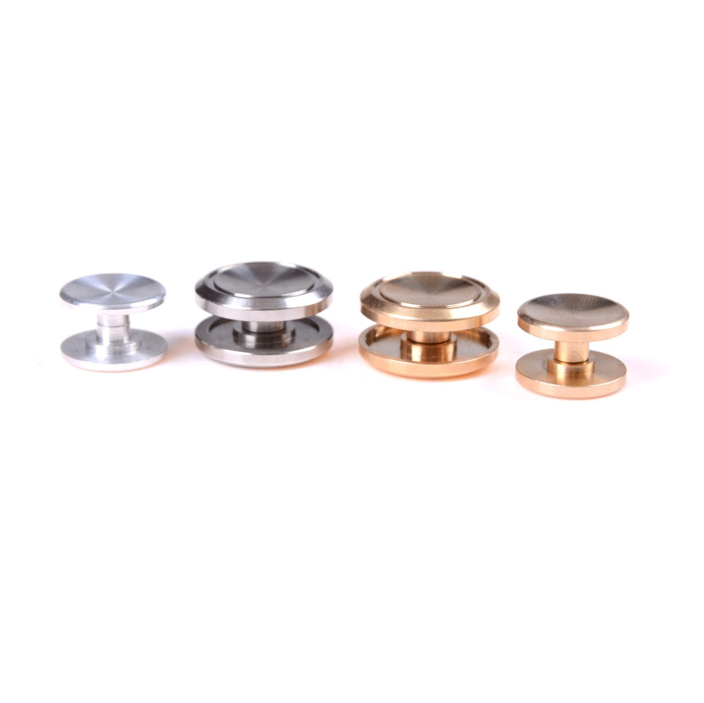 1pc Stainless Steel Fidget Toy Thumb Button For 606 608 Spinner Bearing Cap